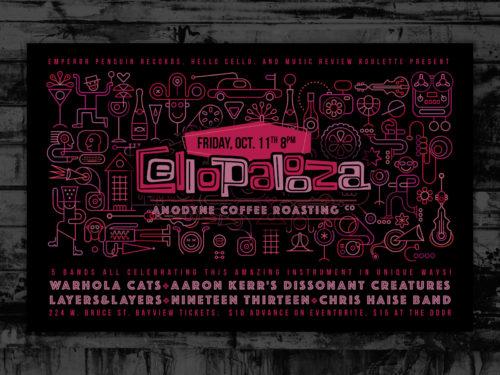 Cellopalooza Poster