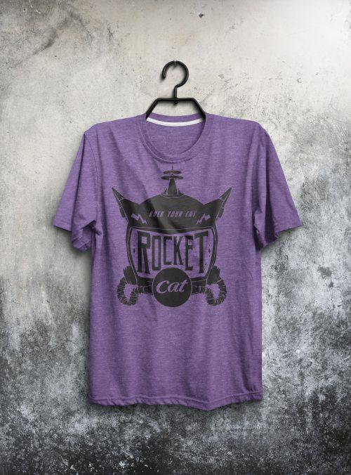 Rocket Cat T-Shirt