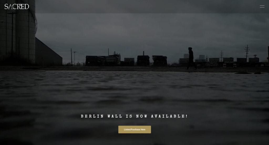 SACRED homepage