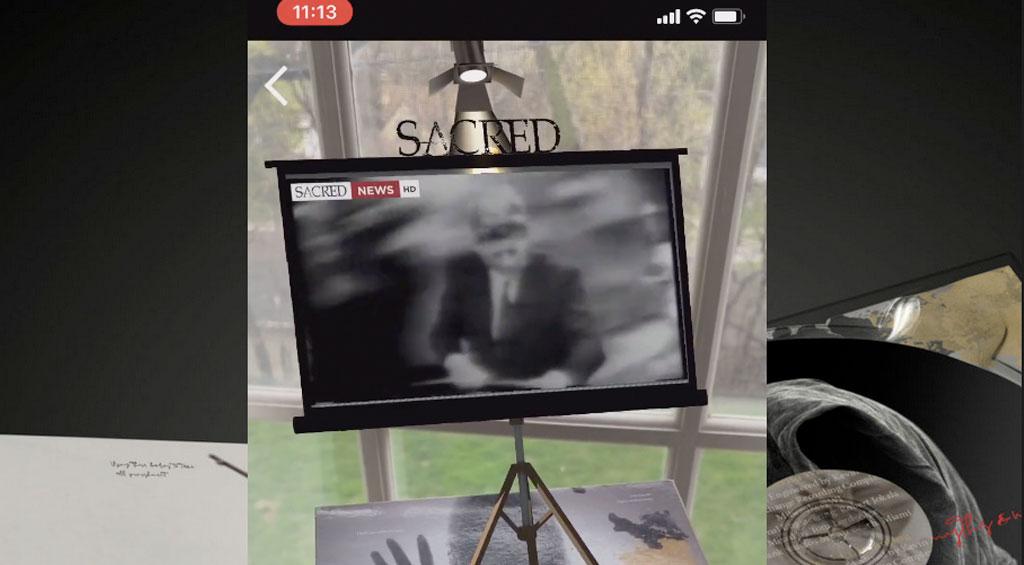 SACRED Augmented Reality