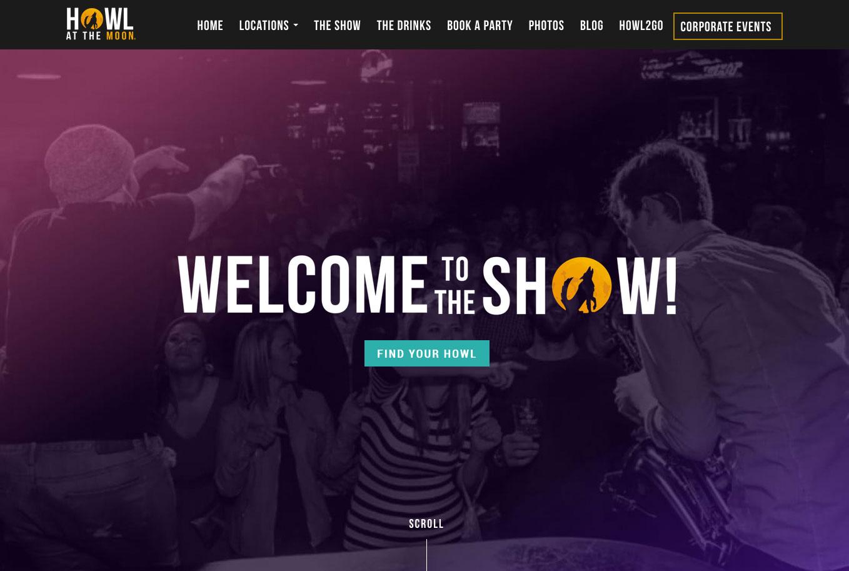 Night Club Website