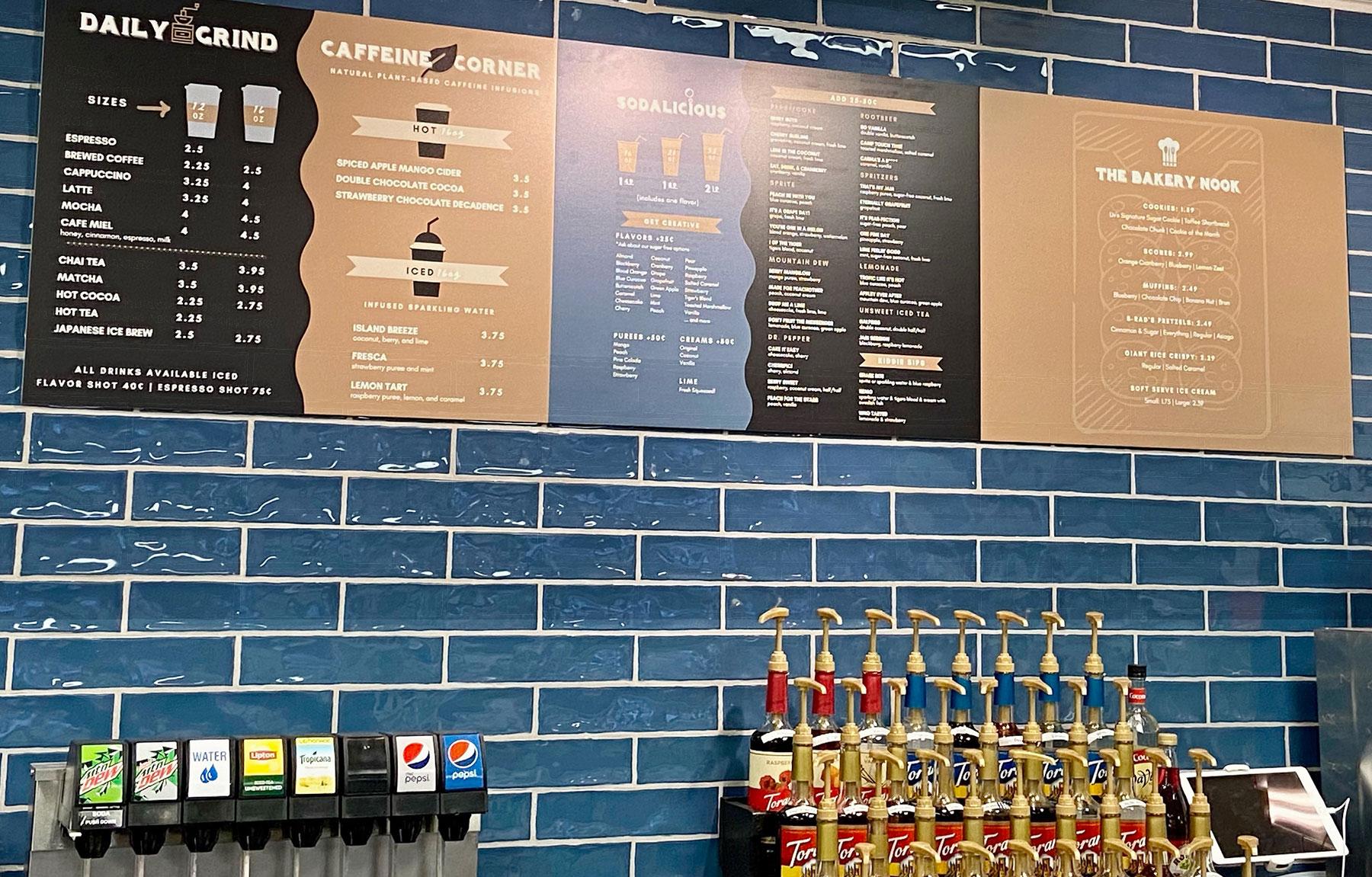 Liv's Drink Emporium Craft Coffee Craft Sodas
